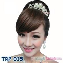 Aksesoris Rambut Mahkota l Mahkota Pengantin wanita - TRP 015