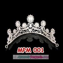 Mahkota Wanita l Mahkota Pesta l Mahkota Pengantin Modern - MPM 001