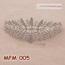 Tiara Sanggul Pengantin l Aksesoris Sanggul Rambut Pesta - MPM 005