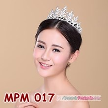Aksesoris Crown Pesta Pengantin Modern l Mahkota Rambut Wedding-MPM 017
