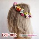 Rainbow Flower Crown Pesta Pengantin l Mahkota Bunga Wedding - FCP 002 4