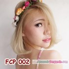 Rainbow Flower Crown Pesta Pengantin l Mahkota Bunga Wedding - FCP 002 5