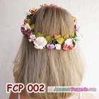 Rainbow Flower Crown Pesta Pengantin l Mahkota Bunga Wedding - FCP 002 3