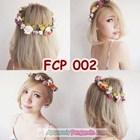 Rainbow Flower Crown Pesta Pengantin l Mahkota Bunga Wedding - FCP 002 2