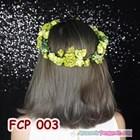 Flower Crown Green Pesta Pengantin l Aksesoris Mahkota Bunga- FCP 003 3
