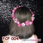Aksesoris Flower Crown Fanta Pesta Pengantin l Mahkota Bunga - FCP 004 4
