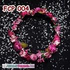 Aksesoris Flower Crown Fanta Pesta Pengantin l Mahkota Bunga - FCP 004 3