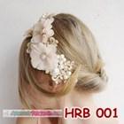 Aksesoris Rambut Pesta Wanita l Headpiece wedding - HRB 001 1