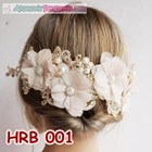 Aksesoris Rambut Pesta Wanita l Headpiece wedding - HRB 001 2