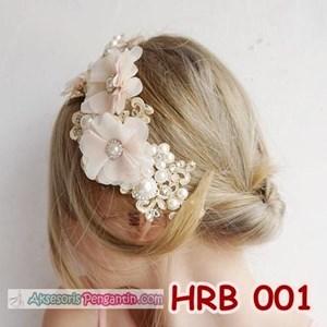 Aksesoris Rambut Pesta Wanita l Headpiece wedding - HRB 001