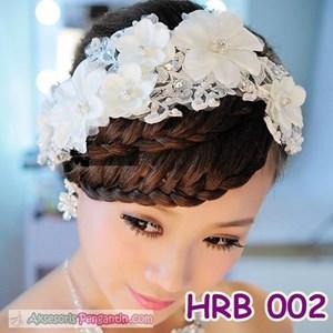Aksesoris Rambut Wedding l Headpiece Pesta Wanita - HRB 002