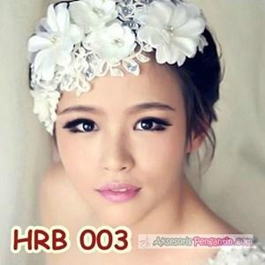 Aksesoris Rambut Wedding l Headpiece Pesta Wanita - HRB 003