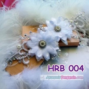 Aksesoris Rambut Wedding l hairpiece wedding - HRB 004