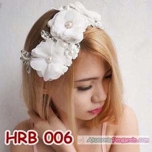 Aksesoris Pengantin Modern l Headpiece Rambut Pesta - HRB 006
