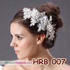 Aksesoris Rambut Pesta l Headpiece Pengantin Wedding Modern - HRB 007 2