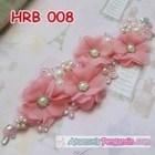 Headpiece Wedding l Aksesoris Rambut Pengantin Modern Pink - HRB 008 3