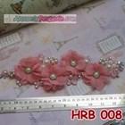 Headpiece Wedding l Aksesoris Rambut Pengantin Modern Pink - HRB 008 2