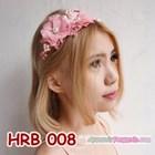 Headpiece Wedding l Aksesoris Rambut Pengantin Modern Pink - HRB 008 4