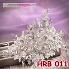Aksesoris Hairpiece Rambut Pesta- Headpiece Pengantin Wedding -HRB 011 3
