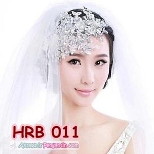 Aksesoris Hairpiece Rambut Pesta- Headpiece Pengantin Wedding -HRB 011