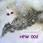 Lace Wedding Headpiece l Aksesoris Rambut Pengantin Wanita - HPW 002 2