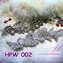 Lace Wedding Headpiece l Aksesoris Rambut Penganti