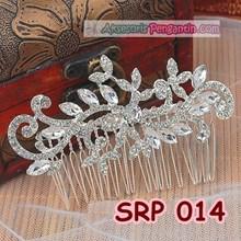 Sirkam Rambut Pengantin l Aksesoris Sanggul Pesta - SRP 014