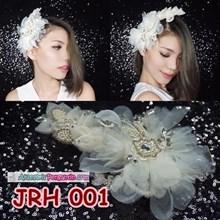 Aksesoris Rambut Pesta Modern l Headpiece Wedding Modern - JRH 001