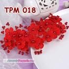 Aksesoris Rambut Pesta Pengantin l Tiara Wedding Merah Wanita -TPM 018 3