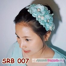 Headpiece Rambut Pesta Tosca l Hairpieces Sirkam S