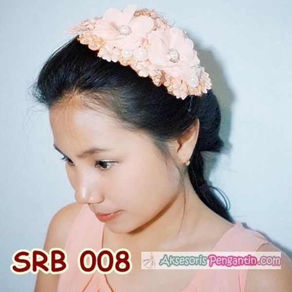 Sell Peach Party Hair Hairpieces l Sirkam the Modern Bun Headpiece ... e81cb11b623