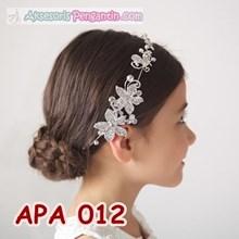 Tiara Rambut Pesta Anak Putri l Aksesoris Rambut Anak Modern- APA 012