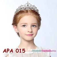 Jual Aksesoris Mahkota Rambut Pesta Anak l Tiara crown Anak Putri - APA 015