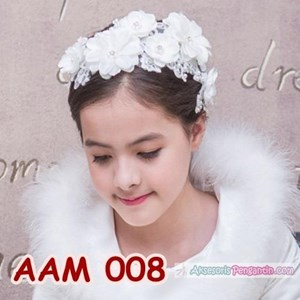 Hairpieces Pesta Anak l Aksesoris Headpiece Rambut Pesta Lace - AAM008