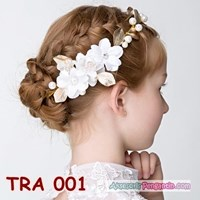 Jual Crown Tiara Pesta Emas Anak l Aksesoris Rambut Anak Wanita - TRA 001