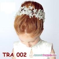 Jual Aksesoris Rambut Pesta Anak Modern - Crown Tiara Pesta Wanita- TRA 002