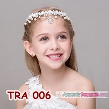 Tiara Hair Accessories children's Party Modern l Necklace Brocades Party-TRA 006