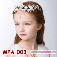 Jual Mahkota Pesta Anak l Aksesoris Crown Tiara Rambut Putri India -MPA 003