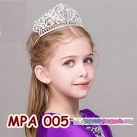 Jual Aksesoris Mahkota Pesta Anak Modern l Crown Tiara Rambut Putri-MPA 005