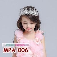 Jual Mahkota Pesta Anak Putri l Aksesoris Crown Tiara Rambut Wanita-MPA006