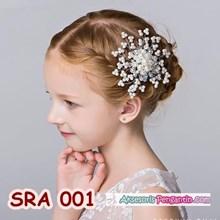 Sirkam Rambut Pesta Anak l Aksesoris Rambut Sanggul Anak Wanita-SRA001