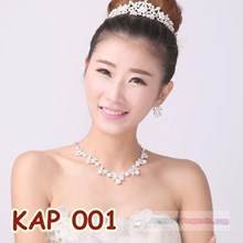 Accessories Bridal Necklace Earring Necklace l Party woman-HOOD 001