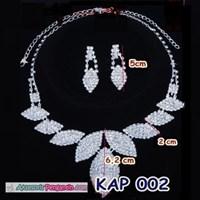 Jual Aksesoris Kalung Wanita l Kalung Aning Perhiasan Pesta - KAP 002