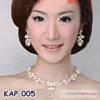 Jual Aksesoris Kalung Modern l Kalung Anting Pesta Wanita - KAP 005