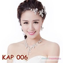 Modern woman l Party necklace Necklace women's Accessories-KAP 006