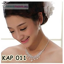 Necklace Earring Bridal Accessories l Women's Party Modern-KAP 011