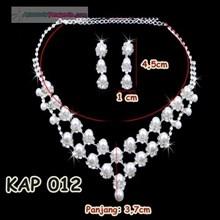 Kalung Mutiara Pengantin l Aksesoris Pesta Modern - KAP 012