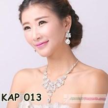 AKsesoris Tiara Rambut Pesta Modern- Kalung Anting Pesta Wanita-KAP013