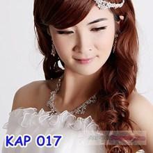 Kalung Aksesoris Wedding l Kalung Anting Pesta Pengantin - KAP 017