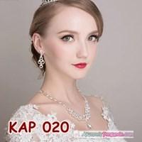 Kalung Pesta Pengantin Wanita l Aksesoris Wedding Wanita Modern-KAP020